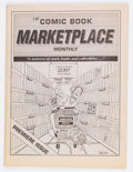 Magazines:Miscellaneous, Comic Book Marketplace #1 (Gary Carter/Gemstone Publishing, 1991)Condition: FN/VF....