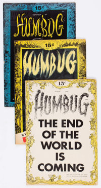Humbug Group of 6 Bill Elder File Copies (Humbug, 1957-58) Condition: Average VG/FN.... (Total: 6 Comic Books)