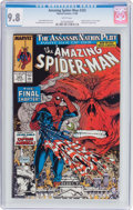 Modern Age (1980-Present):Superhero, The Amazing Spider-Man #325 (Marvel, 1989) CGC NM/MT 9.8 Whitepages....