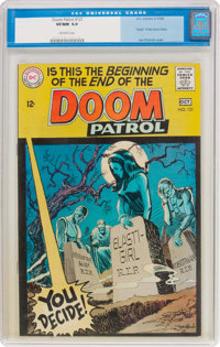 Doom Patrol #121 (DC, 1968) CGC VF/NM 9.0 Off-white pages
