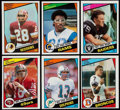 Football Cards:Sets, 1984 Topps Football Complete Set (396). ...