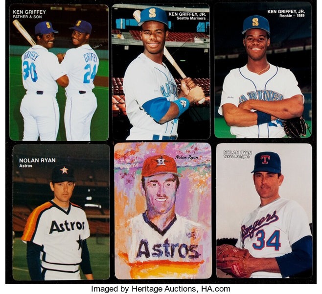 1984 1992 Mothers Cookies Set Collection 16 Baseball Cards