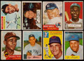 Baseball Cards:Lots, 1952-58 Topps and Bowman Baseball Collection (134) including 1952Topps Jackie Robinson. ...