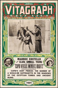 """Movie Posters:Comedy, Cupid Versus Women's Rights (Vitagraph, 1913). One Sheet (27.5"""" X 42""""). Comedy.. ..."""