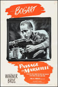 "Movie Posters:War, Passage to Marseille (Warner Brothers, 1944). One Sheet (27"" X41""). War.. ..."