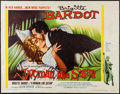"Movie Posters:Bad Girl, A Woman Like Satan (Lopert, 1959). Trimmed Half Sheet (22"" X 28"").Bad Girl.. ..."