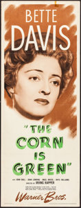 """Movie Posters:Drama, The Corn Is Green (Warner Brothers, 1945). Insert (14"""" X 36""""). Drama.. ..."""