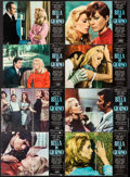 """Movie Posters:Foreign, Belle de Jour (EIA, 1967). Italian Photobusta Set of 8 (17.75"""" X 25.75). Foreign.. ... (Total: 8 Items)"""