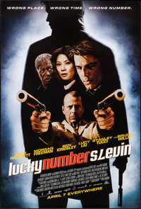 """Lucky Number Slevin (MGM, 2006). One Sheets (49) Identical (27"""" X 40"""") SS Advance. Crime. ... (Total: 49 Items..."""