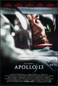 "Apollo 13 (Universal, 1995). One Sheet (27"" X 40"") DS. Drama"