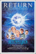 "Movie Posters:Science Fiction, Return of the Jedi (20th Century Fox, R-1985). One Sheet (27"" X41""). Science Fiction.. ..."