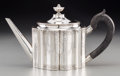 Silver Holloware, American:Coin Silver, A William Grigg Federal Period Coin Silver Teapot, circa 1790.Marks: Grigg. 6-1/4 h x 11-1/8 w x 4-1/8 d inches (15.9 x...