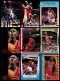 Basketball Cards:Lots, 1987-98 Multi-Brand Michael Jordan Collection (17)....