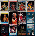 Basketball Cards:Lots, 1987-96 Basketball Card Collection (35) With 1996 Topps Chrome KobeBryant!...