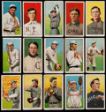 Baseball Cards:Lots, 1909-11 T206 White Borders Collection (15) - With Scarce Brands and Southern Leaguers. ...