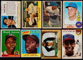 Baseball Cards:Lots, 1950's-1970's Baseball Stars & Hall of Famers Card collection(15). ...