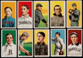 Baseball Cards:Lots, 1909-11 T206 White Borders Collection (10) With HoFer & SLer. ...