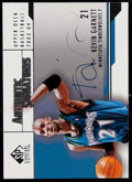 Basketball Cards:Singles (1980-Now), 2004 SP Signature Edition Kevin Garnett Authentic Signatures #AS-KG....