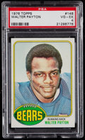 Football Cards:Singles (1970-Now), 1976 Topps Walter Payton #148 PSA VG-EX 4....