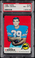 Football Cards:Singles (1960-1969), 1969 Topps Larry Csonka #120 PSA NM-MT 8....