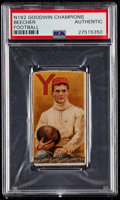 "Football Cards:Singles (Pre-1950), 1888 N162 Goodwin ""Champions"" Henry Beecher (1st Football Card) PSAAuthentic - Rare No Lithographer Credit Variant! ..."