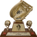 Baseball Collectibles:Others, 1978 Keith Hernandez Gold Glove Award--His First of ElevenStraight!...