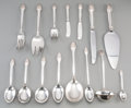 Silver Flatware, American:Gorham, A One Hundred and Thirty-Seven Piece Gorham Sovereign OldPattern Sterling Silver Flatware Service, Providence, ... (Total:137 Items)