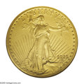 Proof Saint-Gaudens Double Eagles: , 1915 $20 PR65 NGC. In this final year of production of the matteproofing process, only 50 proof Double Eagles were struck....