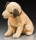 Other, An RCA Nipper Dog Stuffed Toy. 18 inches high (45.7 cm). Property from the Estate of Charles Schalebaum...