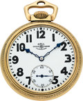 Timepieces:Pocket (post 1900), Ball, Illinois 23 Jewel Official Standard With Original Shipping Case. ...