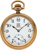 Timepieces:Pocket (post 1900), Ball, Waltham Rare Brotherhood of Locomotive Firemen & Engineers 19 Jewel Official Standard, circa 1910. ...