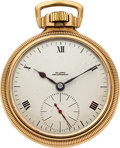 Timepieces:Pocket (post 1900), Illinois 23 Jewel Bunn Special With Rare Delong Escapement, circa 1917. ...