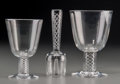 Art Glass:Steuben, A Twenty-Five Piece Steuben Air Twist Pattern Stemware Set,Corning, New York, third quarter 20th century. Marks... (Total: 25Items)