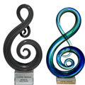 Music Memorabilia:Awards, A Connie Francis Pair of Awards, Circa 1980s.... (Total: 2 )