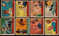 "Non-Sport Cards:Sets, 1936 R28 Anonymous ""Cartoon Adventures"" Collection (30) - Most""Buck Rogers"" Cards. ..."