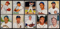 Baseball Cards:Lots, 1950 Bowman Baseball Partial Set (84). ...