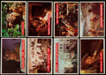 Non-Sport Cards:Sets, 1956 Topps Davy Crockett, Green Backs Complete Set (80) With #20 Error Card. ...