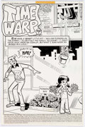 Original Comic Art:Complete Story, Stan Goldberg and Rudy Lapick Life with Arch...