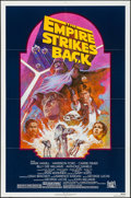 "Movie Posters:Science Fiction, The Empire Strikes Back (20th Century Fox, R-1982). Folded, Very Fine. One Sheet (27"" X 41"") Tom Jung Artwork. Science Ficti..."