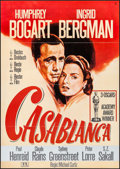 "Movie Posters:Academy Award Winners, Casablanca (Nobis Film, R-1980s). German A1 (23.25"" X 33""). AcademyAward Winners.. ..."