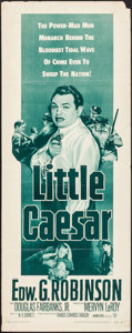 "Movie Posters:Crime, Little Caesar (Warner Brothers, R-1954). Insert (14"" X 36"").Crime.. ..."