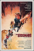 "Movie Posters:Adventure, The Goonies (Warner Brothers, 1985). One Sheet (27"" X 41"") &Program (4 Pages, 9"" X 12""). Adventure.. ... (Total: 2 Items)"