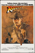 "Movie Posters:Adventure, Raiders of the Lost Ark (Paramount, 1981). One Sheet (27"" X 41"")& Program (4 Pages, 8.5"" X 11""). Adventure.. ... (Total: 2Items)"