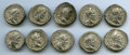 Ancients:Roman Imperial, Ancients: GROUP LOTS. Roman Imperial. Septimius Severus. Lot of ten(10) AR denarii. VF-XF.... (Total: 10 coins)