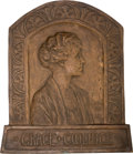Bronze:American, May M. Kelly (American, 20th century). Grace Coolidge, 1924.Bronze. 22-1/2 x 19-1/2 inches (57.2 x 49.5 cm). Inscribed:...