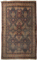 Rugs & Textiles:Carpets, A Large Yazd Carpet, Central Persia, circa 1920. 202 inches long x136 inches wide (513.1 x 345.4 cm). ...