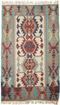 American Indian Art:Textiles, An Ethnographic Wool Rug. 46 inches wide x 83 inches long (116.8 x210.8 cm). ...