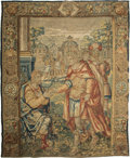 Decorative Arts, Continental:Other , A Brussels Historical Tapestry, Possibly by Jan II Raes, early 17thcentury. 121 inches high x 101 inches wide (307.3 x 256....
