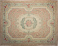 Rugs & Textiles:Carpets, A Room-Sized Needlepoint Carpet180-1/2 inches ...