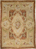 Rugs & Textiles:Carpets, A Large Louis XV-Style Needlepoint Carpet. 145 x 108 inches (368.3x 274.3 cm). ...
